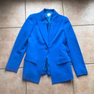 Anne Klein Long Blue Jacket/Blazer Size 4